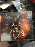 Lands Of Lore III PC CD-ROM Game 4 Discs 1999 Westwood Complete--NEW