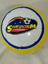 Baden Sportspectrum Soccer Yellow Blue White Size 3 Soccer Ball