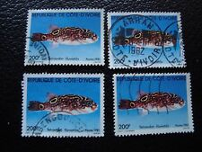 COTE D IVOIRE - timbre yvert/tellier n° 568 x4 obl (A28) stamp