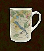 Morning Song Chickadee Coffee Tea Mug American Atelier Porcelain