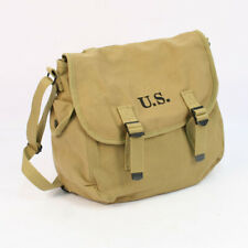 US WW2 Replica M36 Musette Bag with Modified Shoulder Strap by Combat Serviceabl