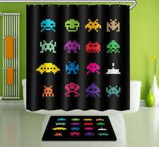 Little Lover Waterproof Bathroom Polyester Shower Curtain Liner Water Resistant
