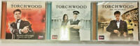 TORCHWOOD 3 AUDIO CD COLLECTION - Red Skies - Fallout - Mr Invincible