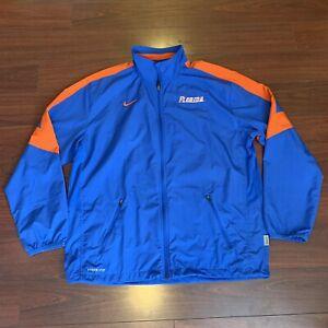 Sz L Florida Gators Nike Storm Fit Windbreaker Jacket