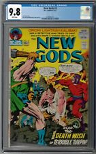 CGC 9.8 NEW GODS #8 WHITE PAGES 1ST APPEARANCE SULI JACK KIRBY COVER & ART 1972