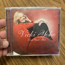 I Just Want You By Vicki Yoh'e (CD, 2003, Pure Springs Gospel) New Sealed