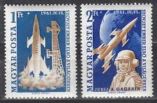 Ungarn / Hungary Nr. 1753A-1754A** Jurij Gagarin / 1. bemannter Weltraumflug