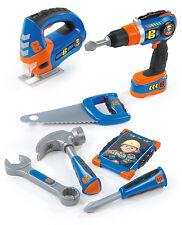 360134 Bob the Builder Mega Tool Set inc 8 Tools & Accessories Boys DIY Toy 3+