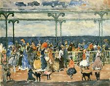 Prendergast Maurice Promenade At Nantasket Print 11 x 14 #3448