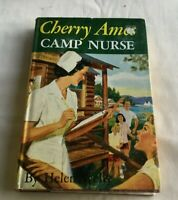 1957 Cherry Ames Book CAMP NURSE by Helen Wells Grosset & Dunlap