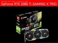 MSI NVIDIA GeForce RTX 2080 Ti Gaming X Trio D6 11GB 1755 MHz 14Gbps Free FedEx