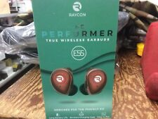 New Raycon The Performer E55 True Wireless Earbuds - Red