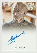 2017 Star Trek Beyond JOE TASLIM as MANAS On Card Autograph