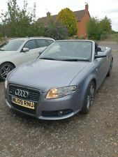 09 AUDI A4 CABRIOLET 2.0 TDI S-LINE CONVERTIBLE, LEATHER, NAV,, FSH