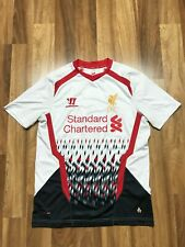 LIVERPOOL FC FOOTBALL SHIRT 2013/2014 AWAY WARRIOR SIZE S MEN'S