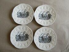 Fieldings Crown Devon Olde England Miniature Wall Plate - Warwick