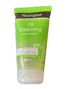 NEUTROGENA Oil Balancing Daily Exfoliator lime & aloe vera 150 ml
