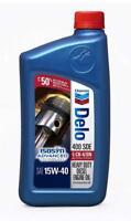 Delo 400 SDE SAE 15W-40 Motor Oil - 1 Bottle Quart New