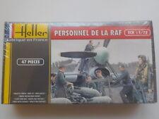Maquette Heller N°49647 Personnel de la RAF 1/72 47 Pièces Neuve sous blister
