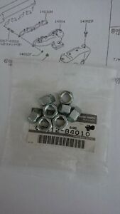 Nissan Sunny Pulsar GTI-R, Exhaust manifold to head nuts, new genuine set of 8.