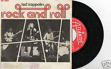 "LED ZEPPELIN - Rock And Roll / Cuatro Cañas, SG 7"" RARE SPAIN 1972"