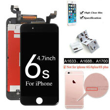 for iPhone 6s LCD Display Digitizer Touch Front Glass Screen Replacement Black