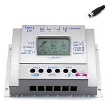 LCD 60A MPPT Solar Panel Charge Controller 12V 24V Battery Regulator W/ USB O✿