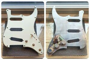 Fender Stratocaster Strat wiring harness loom upgrade kit loaded pickguard