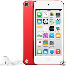 Apple iPod Touch 5th Generation 32GB Red 5MP IOS 8 Bluetooth Factory Refurbished