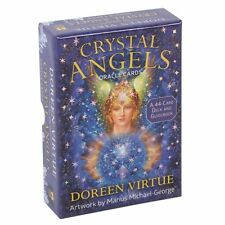 CRYSTAL ANGELS ORACLE CARDS DOREEN VIRTUE SPIRITUALITY PSYCHIC TAROT