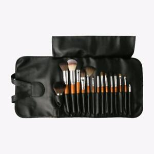 Vanity Planet Palette Professional Make-up Brush Set 15-Piece - Natural Birch UK
