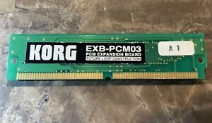 Korg EXB-PCM03 Future Loop Construction Keyboards PCM Expansion Board