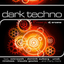 CD Dark Techno by Various Artists Mixed By DJ Arcane 2CDs