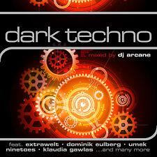 CD Dark Techno von Various Artists Mixed By DJ Arcane   2CDs