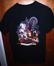PENNSYLVANIA RENAISSANCE FAIRE small T shirt medieval 2005 tee sword logo knight