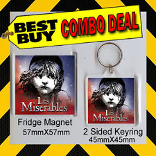 LES MISERABLES -KEYRING & FRIDGE MAGNET --#DVD-CD-56789