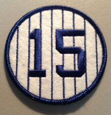 THURMAN MUNSON NEW YORK YANKEES RETIRED 1973 JERSEY NUMBER 15 PATCH