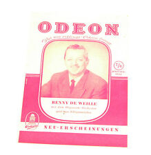 odeon neuerscheinungs katalog 7/81952 (K143)