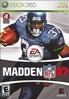 Madden NFL 07 (Microsoft Xbox 360, 2006) Disc Only - Tested 100% Guaranteed