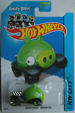 Hot Wheels angry birds Minion verde nuevo/en el embalaje original us-card 2014 juguetes auto mattel HW