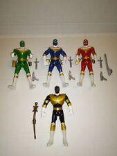 Power Rangers Zeo 5.5 ' Action Figure Lot of 4 vintage 1995