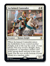 Acclaimed Contender - Throne of Eldraine - NM - English - MTG