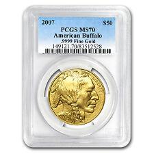 2007 1 oz Gold Buffalo MS-70 PCGS