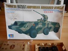 Modelkit Trompeter Chinese WZ551 Amphibian Armoured Vehicle on 1:35 in Box