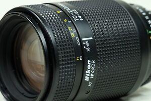 Nikon Nikkor-AF 70-210mm f4-5.6 AF LENS With HOOD
