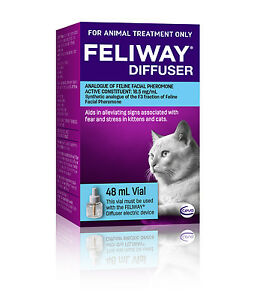 Feliway 48mL Diffuser Refill - Constant Calming and Comfort for Cats