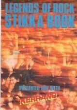 Kerrang! Legends of Rock Stikka Book