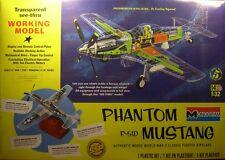 Revell Monogram WWII P-51 Phantom Mustang fighter operating model kit 1/32