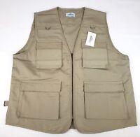 Outdoor Safari Photographer's Vest Travel Vest Hiking Vest Fishing Vest 4XL NEW