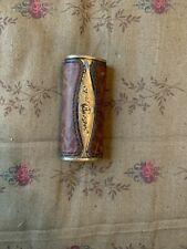 Gold Pfeil Caracciola Bic Lighter Cover Brass Leather